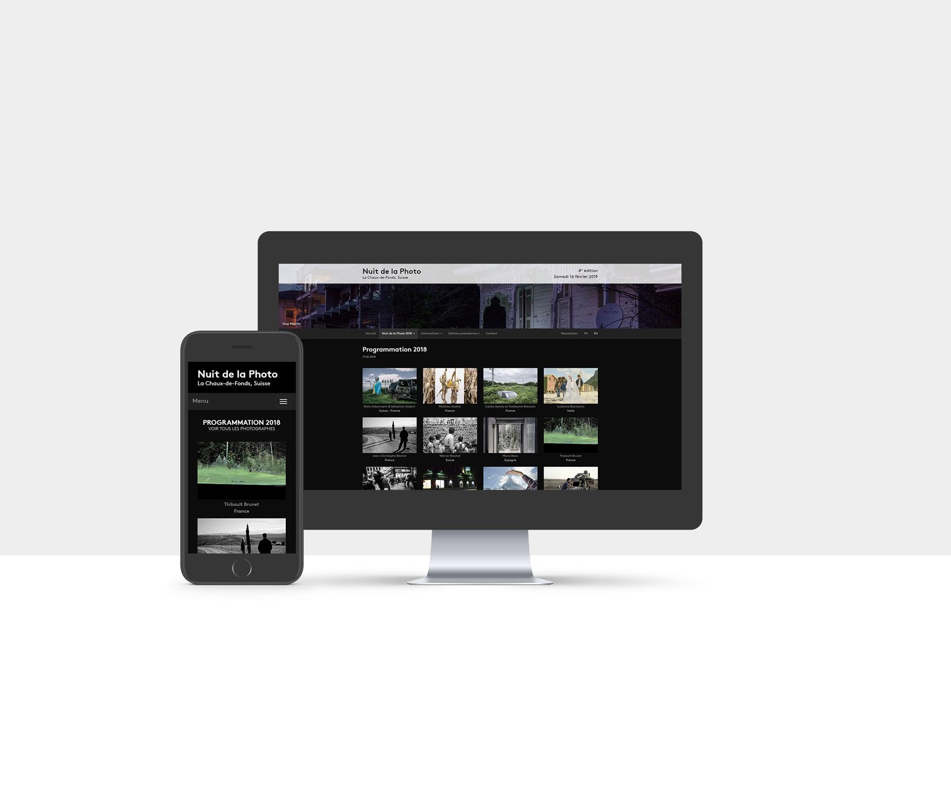 Site Internet de la Nuit de la Photo